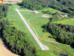 Aerial photo of NH86 (Intervale Airport)