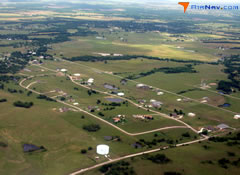 Aerial photo of OK01 (Skyhaven Airpark)