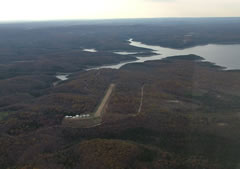 Aerial photo of 6AR9 (Pine Mountain Airpark)