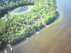 Aerial photo of MN75 (Krezowski Seaplane Base)