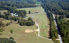 Aerial photo of AL32 (Flying M Ranch Airport)