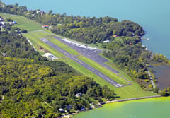 Aerial photo of 3T7 (Middle Bass Island Airport)