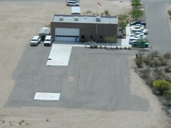 Aerial photo of 70AZ (Regional Public Safety Training Academy Heliport)