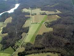 Aerial photo of VG29 (Branham Mill Airpark)