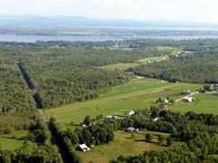 Aerial photo of VT38 (Greenwoods Airfield)