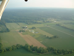 Aerial photo of 9IN7 (Zupancic Field Airport)