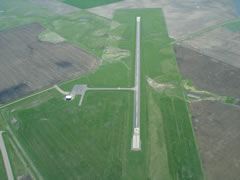 Aerial photo of 4X4 (Wessington Springs Airport)
