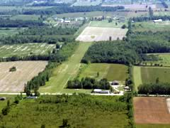 Aerial photo of 2E2 (Sharpe's Strip Airport)