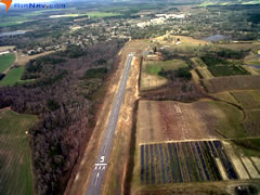 Aerial photo of 1A4 (Logan Field Airport)