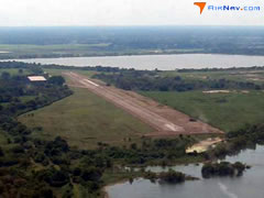 Aerial photo of 1TX4 (New Gulf Airport)