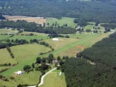 Aerial photo of 8NC2 (Summey Airpark)