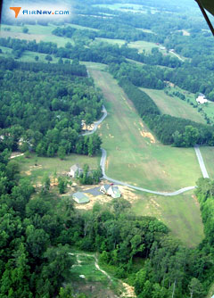 Aerial photo of GE05 (Gibson Field Airport)