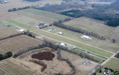Aerial photo of 02MI (Fairplains Airpark)