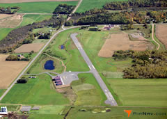 Aerial photo of 04W (Field of Dreams Airport)