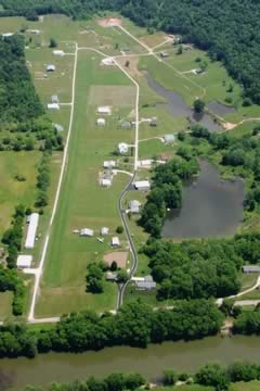 Aerial photo of 2WV3 (Hales Landing Airport)