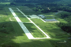 Aerial photo of KPVE (Beech River Regional Airport)