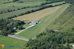 Aerial photo of 8NK4 (Bethany Airpark)
