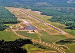 Aerial photo of KXSA (Tappahannock-Essex County Airport)