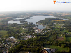 Aerial photo of 01F (Hamilton Lake Seaplane Base)