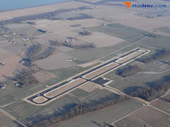 Aerial photo of KY8 (Hancock County Airport-Ron Lewis Field)