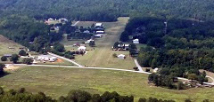 Aerial photo of SC82 (Oakhill Airpark)