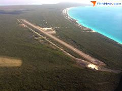 Aerial photo of MYCA (Arthurs Town Airport)