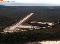 Aerial photo of MYCB (New Bight Airport)