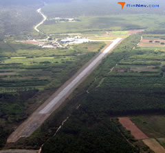 Aerial photo of MYAN (San Andros Airport)