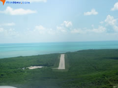 Aerial photo of MYBS (South Bimini Airport)