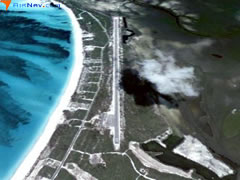 Aerial photo of MYBG (Great Harbour Cay Airport)