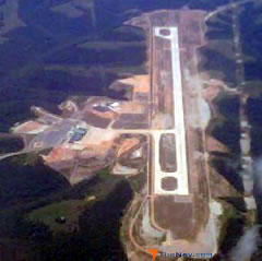 Aerial photo of KBBG (Branson Airport)