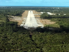 Aerial photo of MYEH (North Eleuthera Airport)