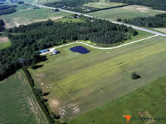 Aerial photo of 32WN (Bowman Airstrip Ultralight Flightpark)