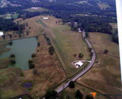 Aerial photo of 8KY6 (Caintuckee Airport)