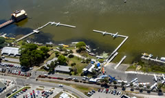 Aerial photo of FA1 (Tavares Seaplane Base)