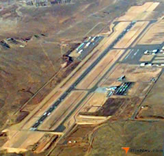 Aerial photo of KSGU (St George Regional Airport)