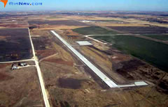 Aerial photo of KRCP (Rooks County Regional Airport)