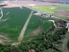 Aerial photo of 4KS (Walz Airport)