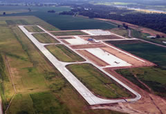 Aerial photo of KCXW (Cantrell Field Airport)