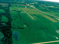 Aerial photo of 1KS (Linn County Airport)