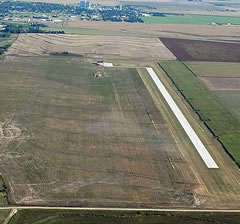 Aerial photo of 1QK (Gove County Airport)