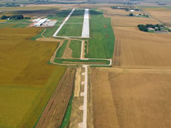 Aerial photo of KSXK (Sioux County Regional Airport)