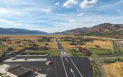 Aerial photo of 46U (Alpine Airport)